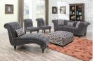 Emerald Home Hutton II Loveseat Nailhead W/2 Pillows Thunder Bella U3164-01-13 Product Image