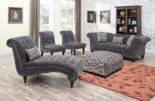 Emerald Home Hutton II Loveseat Nailhead W/2 Pillows Thunder Bella U3164-01-13
