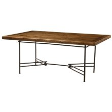 Base Only Ranch Dining Table