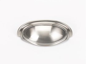 Classic Traditional Cup Pull A1571-35 - Satin Nickel