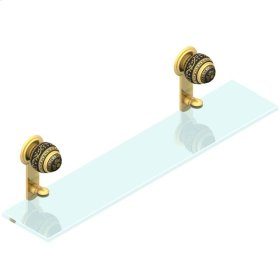 Glass Shelf 60 Cm With Supports