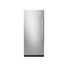 "36"" Built-In Column Refrigerator with NOIR Panel Kit, Left Swing"