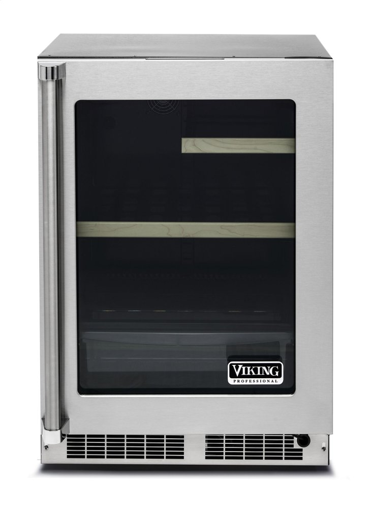 Vrui5240grss Viking 24 Quot Glass Door Undercounter