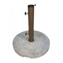 Round Granite Umbrella Base