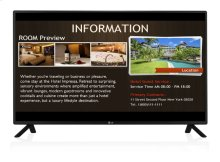 "65"" class (64.53"" diagonal) TV tuner built-in Digital Signage"