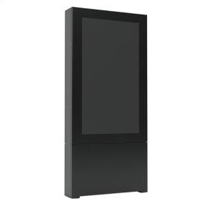 "Chief ManufacturingImpact Floor Standing Kiosk - Portrait 55"" Black"