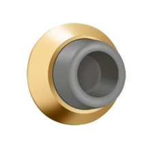 "Flush Bumper 17/8"" Diam. - PVD Polished Brass"