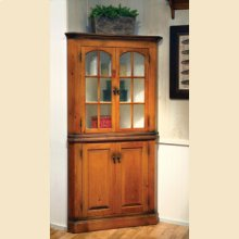 4 Door Corner Cupboard