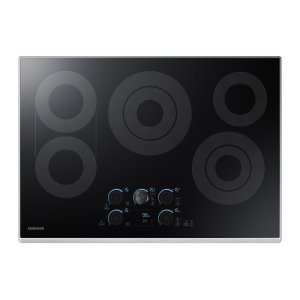 "Samsung30"" Electric Cooktop with Sync Elements in Stainless Steel"
