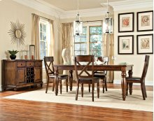 Kingston Butterfly Leaf Dining Table