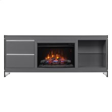 Biscayne TV Stand with Electric Fireplace