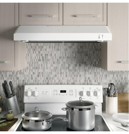 "GE® 30"" ENERGY STAR Certified Under The Cabinet Hood"