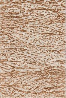 Oatmeal / Terracotta Rug