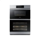 "30"" Combi Wall Oven, Graphite Stainless Steel Product Image"
