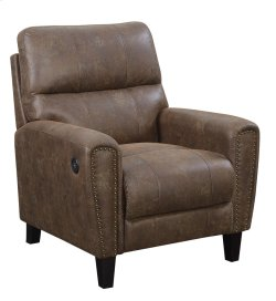 Emerald Home Dover Push Back Chair W/usb Beige U7051-04-05 Product Image