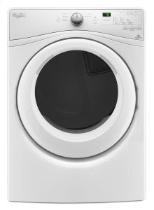 SAVE BIG! - DISCONTINUED FLOOR MODEL - FULL WARRANTY - WHIRLPOOL-7.4 cu.ft Front Load Electric Dryer with Advanced Moisture Sensing MODEL WED75HEFW