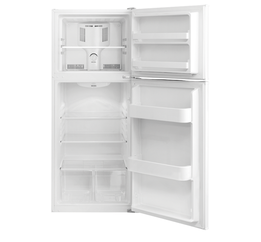 FFTR1022QW Frigidaire 9.9 Cu. Ft. Top Freezer Apartment-Size ...