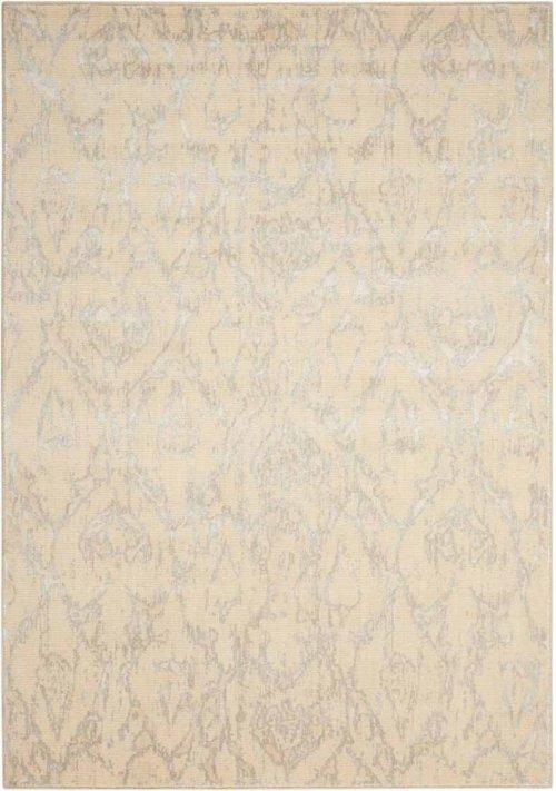 Nepal Nep07 Bone Rectangle Rug 5'3'' X 7'5''