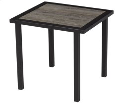 Barnboard Rectangular End Table
