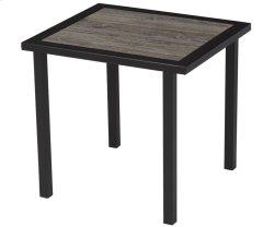 Barnboard Rectangular End Table