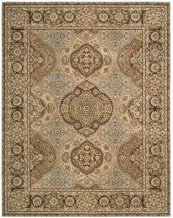 Nourison 2000 2260 Mtc Rectangle Rug 27'' X 18''