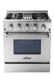 Professional 30 Inch Dual Fuel Range In Stainless Steel Product Image