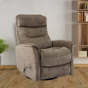 Gemini Heather Manual Swivel Glider Recliner