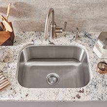 Portsmouth Undermount 23x18 Single Bowl Kitchen Sink  American Standard - Stainless Steel