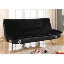 Casual Black Sofa Bed