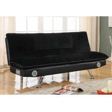 Casual Black Sofa Bed