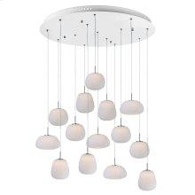 Puffs 14-Light LED Pendant