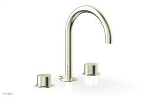 BASIC II Widespread Faucet 230-02 - Burnished Nickel