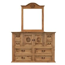 Mansion Dresser W/Star