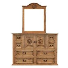 Mansion Dresser W/Star