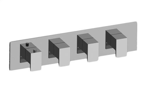 Solar M-Series Valve Horizontal Trim with Four Handles