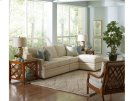 BC Options Bradbury Track Arm, Boxed Back Pillow, Tapered Leg Sectional Product Image