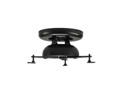 Black Adjustable Projector Mount With Smooth Tilt & Swivel