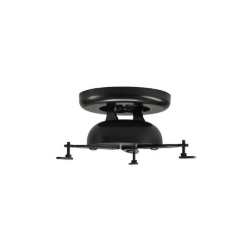 Black Adjustable Projector Mount With Smooth Tilt & Swivel