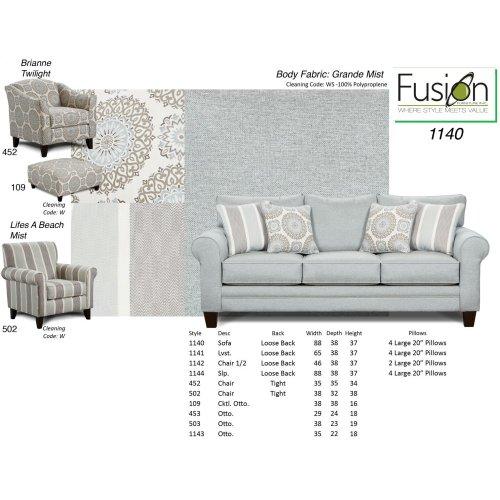 Grande Mist Sofa and Loveseat