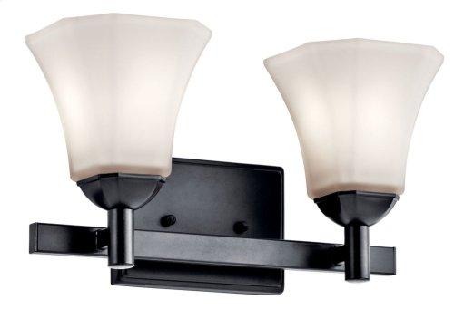 Serina 2 Light Vanity Light Black