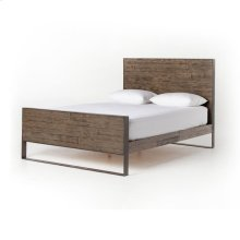 Queen Size Flat Stock Bed