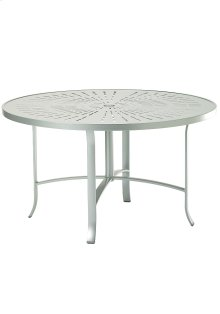 "La'Stratta 48"" Round Dining Umbrella Table"