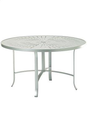 """La'Stratta 48"""" Round Dining Umbrella Table"""