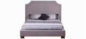 Castle Queen bed, wide base with legs