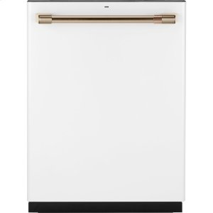 Stainless Interior Built-In Dishwasher with Hidden Controls - MATTE WHITE