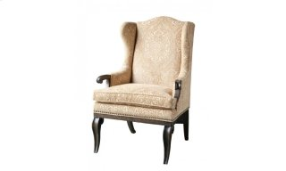 Continental Wingback Arm Chair - Vintage Melange