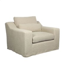 Broadway Slipcover Chair - Hopstack Natural Linen