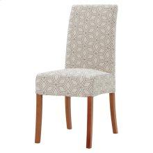 Valencia Fabric Chair Amber Legs, Geo Diamond