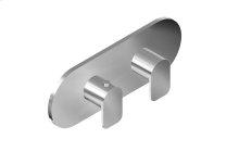 Sento M-Series Valve Horizontal Trim with Two Handles