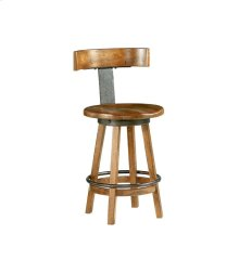 Stool-KD Rustic Dark Oak Finish